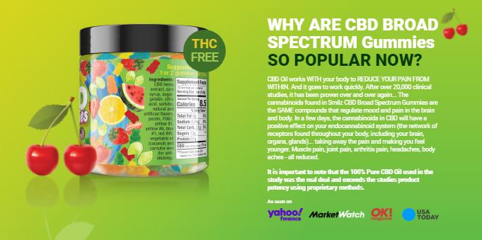reduce pain Gummies