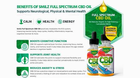 Smilz Cbd Oil gummies